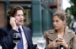 Talking on cell phone during your date - big no-no!